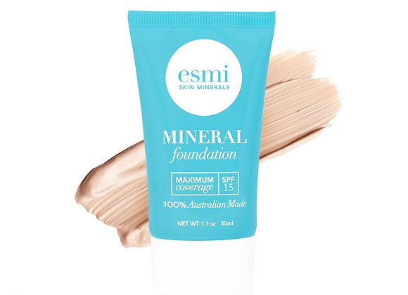 Esmi Liquid Mineral Foundation - Skin type I - II 30ml