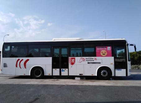 Ligne de bus entre Parentis et La Teste