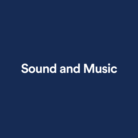 Sound and Music Seed Award Winner