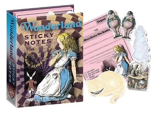 Wonderland Sticky Notes
