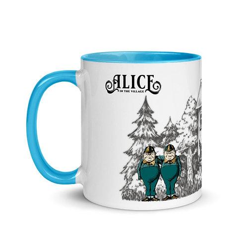Alice in the Village Blue 11oz Mug