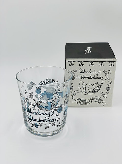 Blue Alice Glass Tumbler