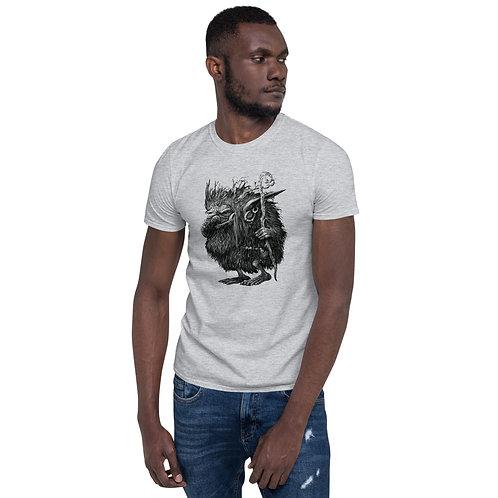 Unisex T-Shirt - Troll Design (Light Gray)