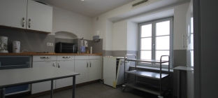 Küche Sitzungszimmer