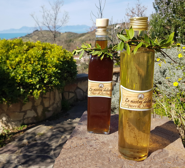 Marmellate, miele e liquori