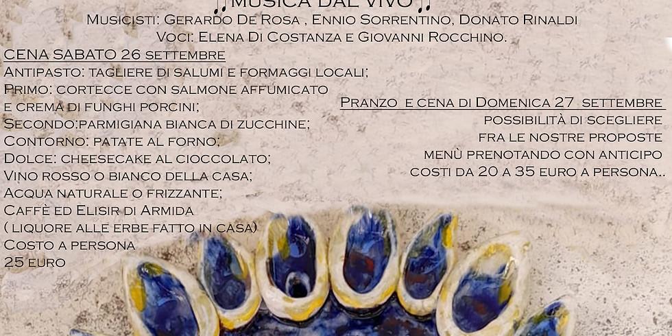 Mostra mercato dell'artista ceramista Lucio De Simone