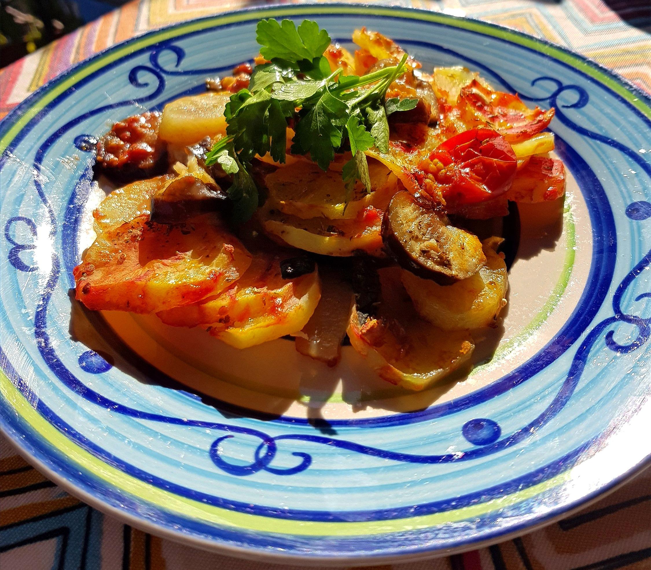 """Turtiera"" melanzane e patate"