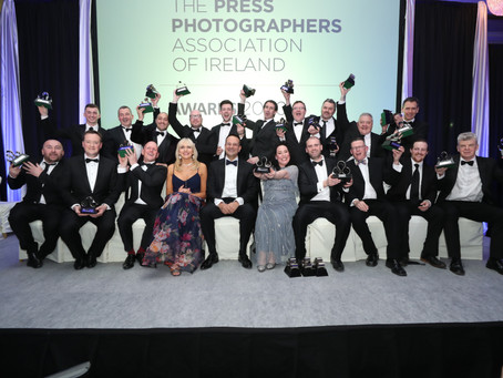 THE PRESS PHOTOGRAPHERS ASSOCIATION OF IRELAND 'PRESS PHOTOGRAPHER OF THE YEAR' 2020 AWARDS ANNOUNCE