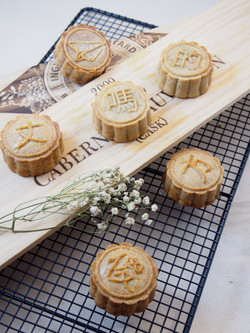 Chinese phrased mooncake