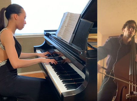 A Virtual Collaboration: A Pianist & Bassist Performing with a Purpose