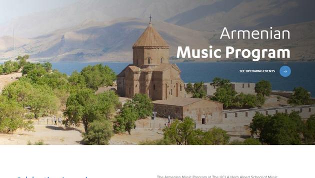 armenian music program at ucla herb alpert school of music