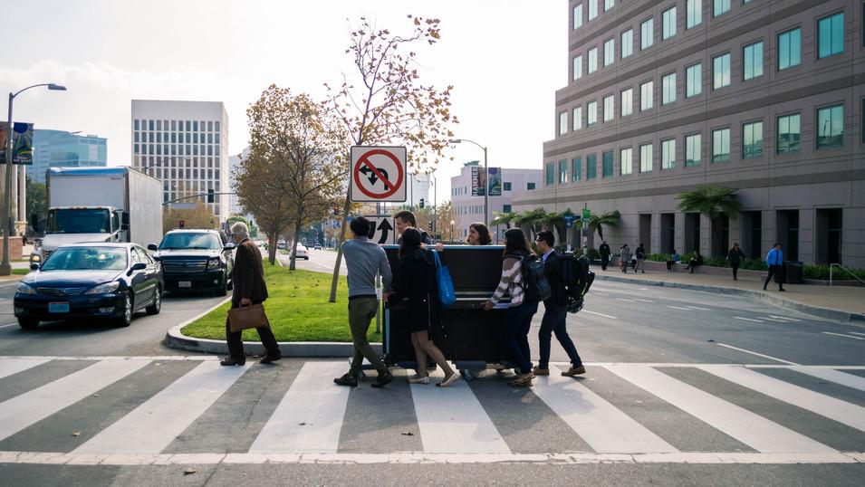 Piano Magic at Ronald Reagan UCLA Medical Center