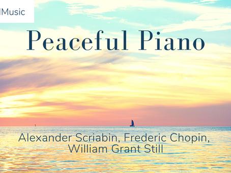 Jordan Daniels: Finding peace in playing the piano