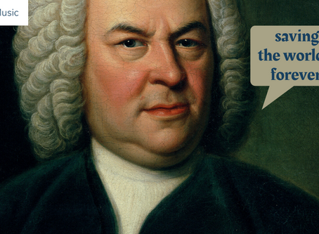 Bach Can Save The World: Preview of our Artists for Upcoming Release