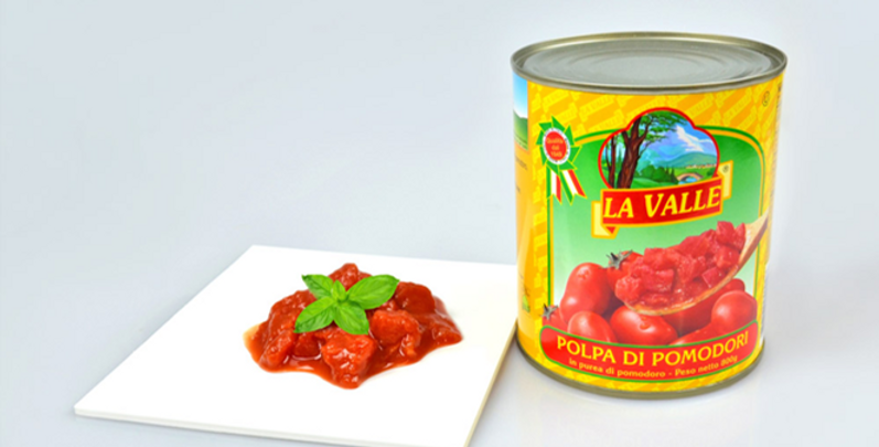 La Valle Chopped Tomatoes
