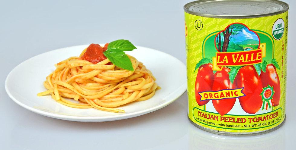 La Valle Organic Italian Peeled Tomatoes
