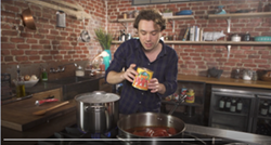 Cooking with Frankie Celenza