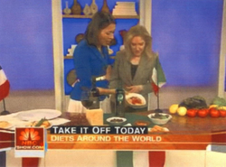 Feature on the Today Show