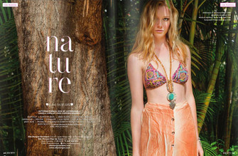 Tropical nature #fashioneditorial for Elle Morgan Boutique - Society Magazine May16