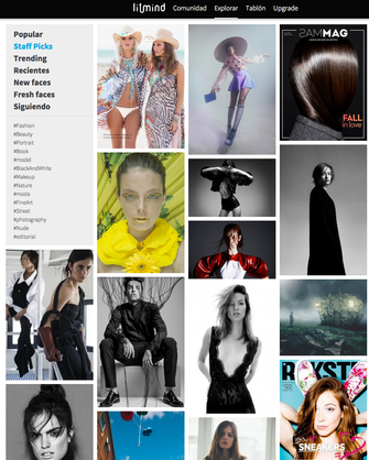 Fashion editorial Like A Queen cover and staff pics in Litmind.com