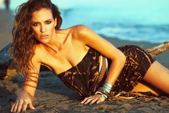 Model Ana Santos styled by Andrea Karoliina
