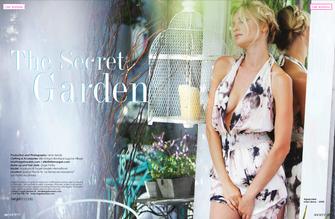 The Secret Garden - Fashion editorial for Society Magazine July16
