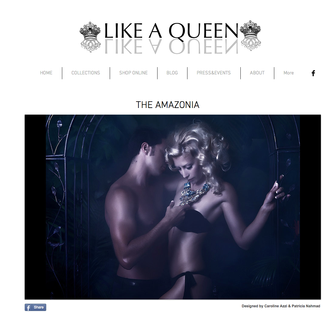 LIKE A QUEEN Fashion Campaign online!