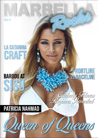 Cover Marbella Rocks Magazine July 16
