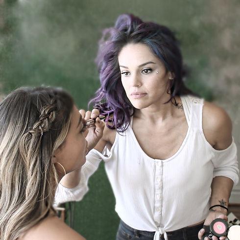 Best Hair Dresser and Colorist winner, Hair Artist Deborah Lynn Arboleda of Beauty Artistree