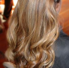 Hair color and style by Deborah Arboleda