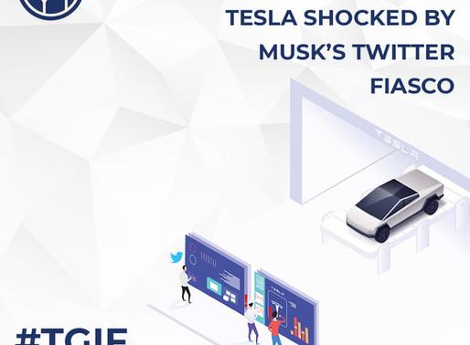 Tesla Shocked by Musk's Twitter Fiasco