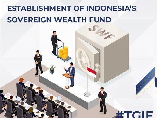 Establishment of Indonesia's Sovereign Wealth Fund