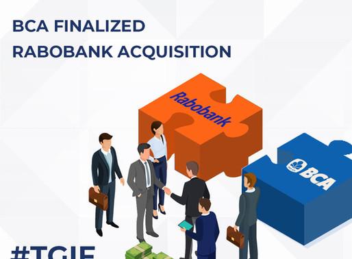 BCA Finalized Rabobank Acquisition