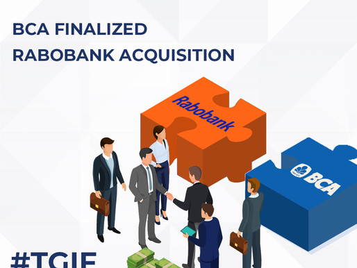 BCA Finalized Rabobank Acquisition
