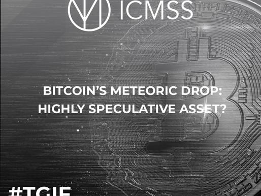 Bitcoin's Meteoric Drop: Highly Speculative Asset?