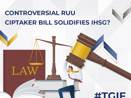 Controversial RUU Ciptaker Bill Solidifies IHSG?