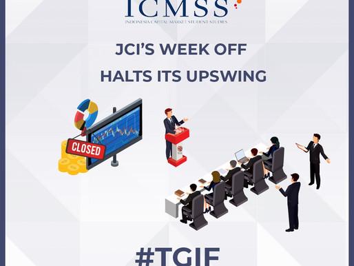 JCI's Week Off Halts Its Upswing