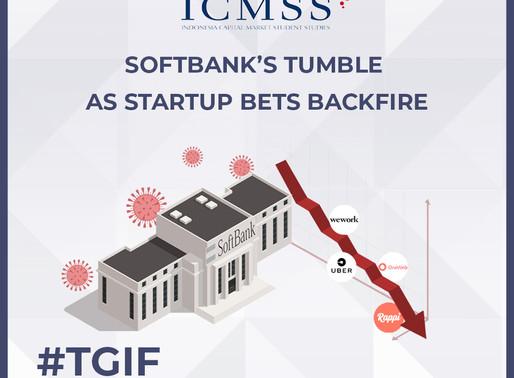 SoftBank's Tumble as Startup Bets Backfire