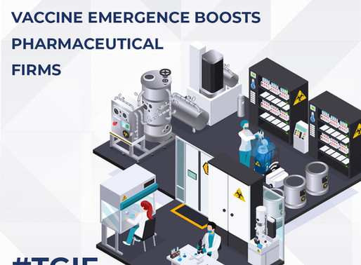 Vaccine Emergence Boosts Pharmaceutical Firms