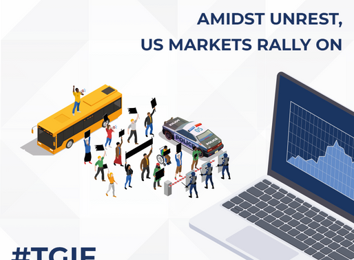 Amidst Unrest, US Markets Rally On