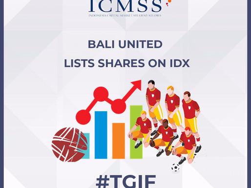 Bali United Lists Shares on IDX