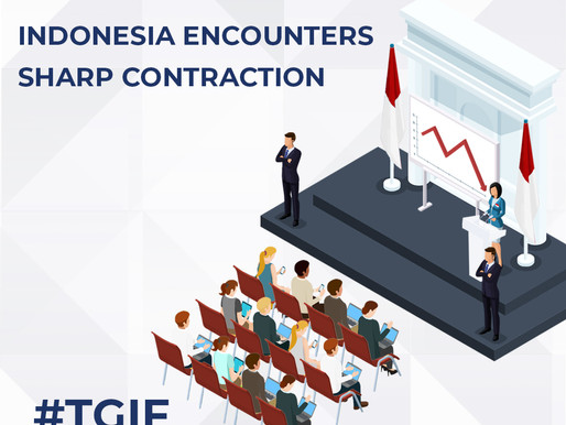 Indonesia Encounters Sharp Contraction