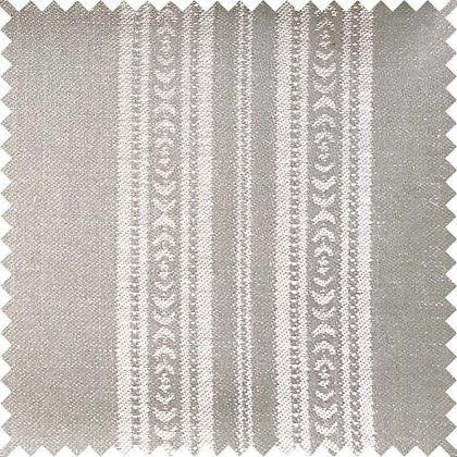 Swatch of Memory Stripe Fabric, Natural