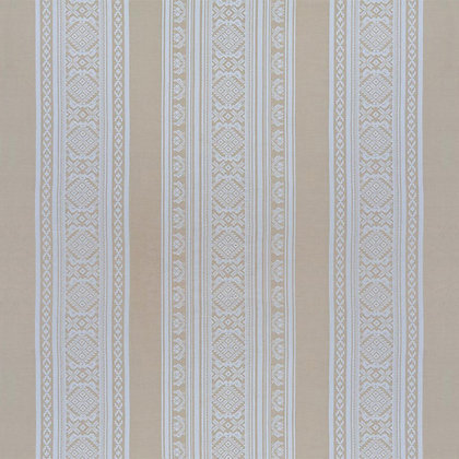 Hungarica Cotton Fabric, Gold / White (reversible)
