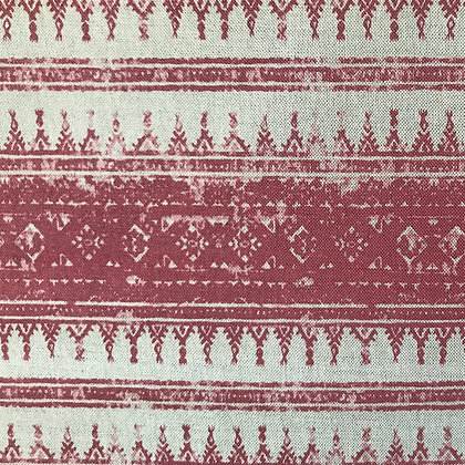 Tribes Horizontal Stripe, Raspberry