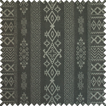 Swatch of Arabica Cotton Fabric, Charcoal