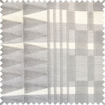 Swatch of Africana Upholstery Fabric, Kijivu (Grey)
