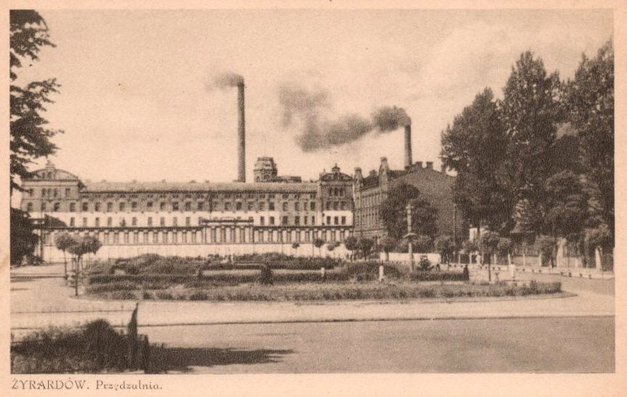 Old Spinning Mill in Zyrardow