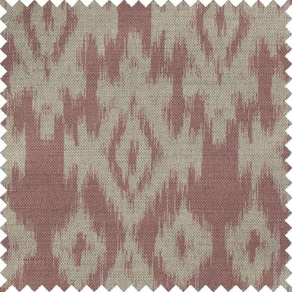 Swatch of Ikat,  Rouge