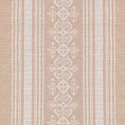 Nostalgia Linen Fabric, Old Gold